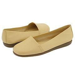 Aerosoles Mr Softee Light Yellow Leather