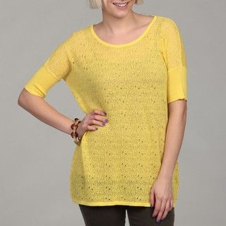 Cable & Gauge Womens Novelty Stitch Top