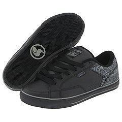 DVS Shoe Company Carson Black Leather Lazer