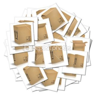 Corrugated cardboard boxes  Stock Photo © pakmor #1481411