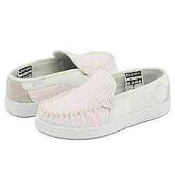 Globe Castro W White/Pink Pinstripe