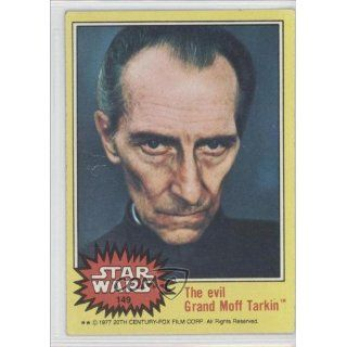 Grand Moff Tarkin (Trading Card) 1977 Star Wars #149 Everything Else