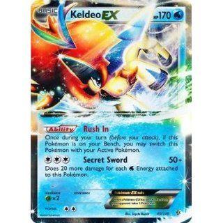 Pokemon   Keldeo EX (49/149)   BW   Boundaries Crossed