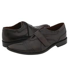 Kenneth Cole Reaction Steam Power Brown Leather Loafers