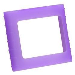 Purple Silicone Case/ Screen Proecor for Apple iPod Nano 6h