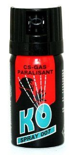 KO Spray 007 CS GAS PARALISANT zur selbstverteidigung 40ml