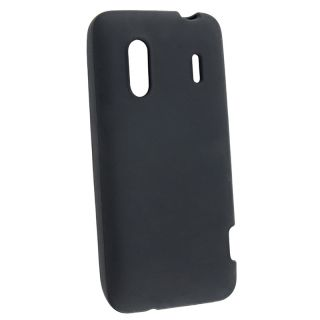 Black Silicone Skin Case for HTC EVO Design 4G
