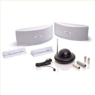 Bose 151 SE Outdoor Speaker White and Wireless Remote Control Extender
