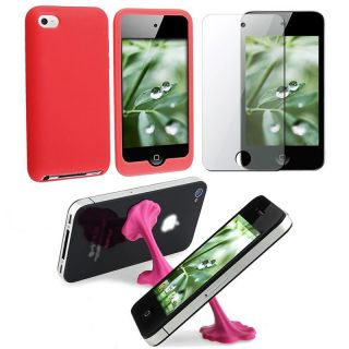 Case/ LCD Protector/ Stand for Apple iPod touch 4th Gen
