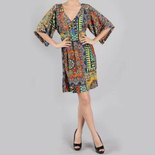 Tabeez Kimono Printed Dress