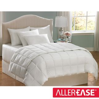 AllerEase Cotton Twin size Hypoallergenic Down Alternative Comforter