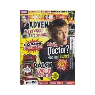 Doctor Who Adventures Magazine #144   Plus FREE stickers
