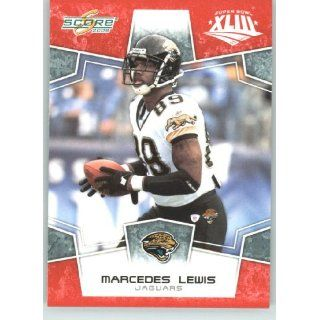 2008 Donruss / Score Limited Edition Super Bowl XLIII # 144 Marcedes