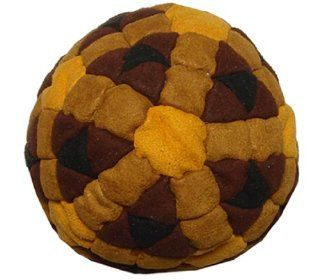 Super Hero Orange, Brown & Black 152 Panel Hacky Sack