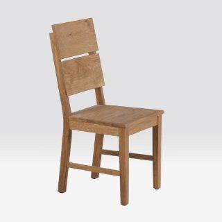 Stuhl aus Eiche, Holzstuhl, Esszimmerstuhl, geölt, Hans