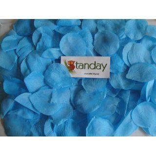 Tanday Turquoise 144 Premium Pre Cut Silk Rose Petals