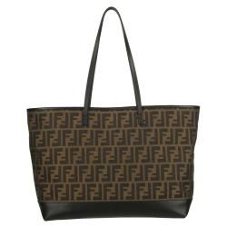 Fendi Zucca Roll Shoulder Bag