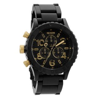 Nixon Mens 42 20 Stainless Steel Chronograph Watch