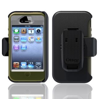 Otter Box Apple iPhone 4/ 4S OEM Grey/ Envy Green Defender Case