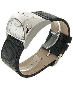 LP Italy Junior Stratosphere Black Strap Watch