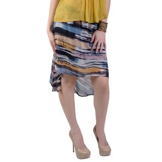 Journee Collection Juniors Flowy Chiffon Long Tail Hem Skirt Today $