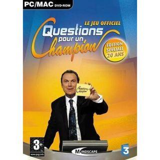 QUESTIONS POUR UN CHAMPION Edition spéciale 20 ans   Achat / Vente PC