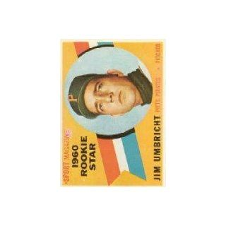 1960 Topps #145 Jim Umbricht RS RC   NM Collectibles