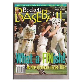 Counsell 1998 Beckett Baseball Magazine Issue # 154 Florida Marlins