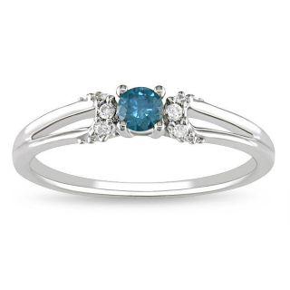 Blue Diamond Rings: Buy Engagement Rings, Anniversary