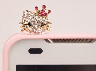 Earcap_Mini Hello Kitty Crown #Gold Cell Phones