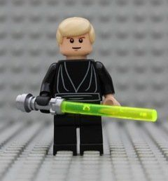 LEGO® Star Wars   Luke Skywalker Black Jedi   from 10212