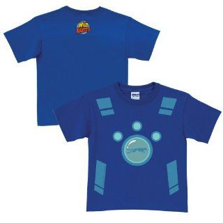 Wild Kratts Creature Power Suit Royal Blue T Shirt Size 5