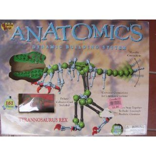 Rex ; Collectible Toy Anatomics Dynamic Building System ; 161 Pieces
