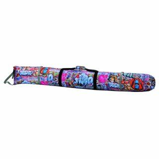 Athalon Padded Single Ski Bag (Graffiti, 155cm) Sports