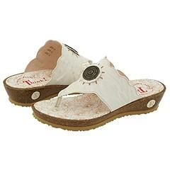 Think! Suzn   86360 Bianco/Kombi Leather Sandals