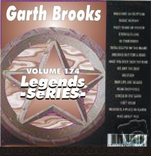 Karaoke CD+G Legends #174 GARTH BROOKS LEGENDS SERIES KARAOKE Music