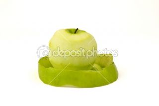 The Green Nake Apple  Stock Photo © Tom Baker #5024231