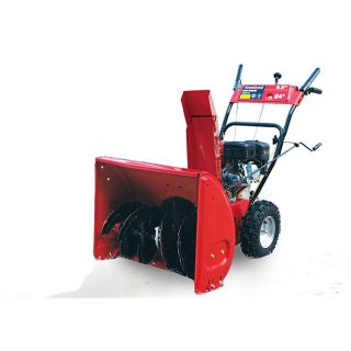 Powerland 24 inch 2 stage 196cc Snow Blower