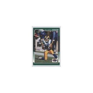 Hakim St. Louis Rams (Football Card) 2000 Score #185: Collectibles