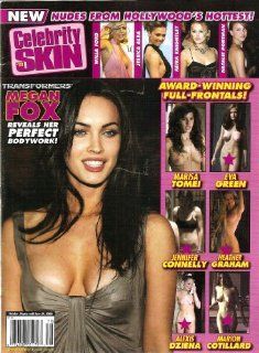 Celebrity Skin Magazine #178 Jessica Alba, Megan Fox: HIGH SOCIETY