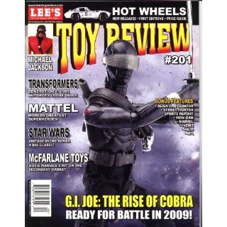 Toy Review Magazine # 201 Transformers, Michael Jackson, Star Wars, G