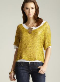 Yellow Womens Shirts Short Sleeve Shirts, Long