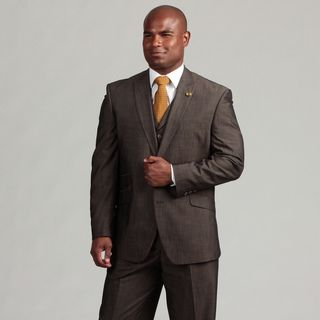 Phat Farm Mens 2 button Vested Suit