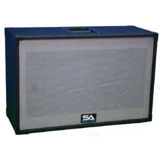 Seismic Audio   Empty 212 GUITAR SPEAKER CABINET Vintage
