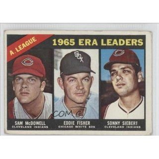 Chicago White Sox, Cleveland Indians (Baseball Card) 1966 Topps #222