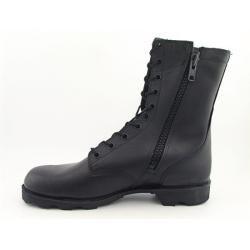 Altama Mens Combat Zipper Black Military Boots (Size 7)