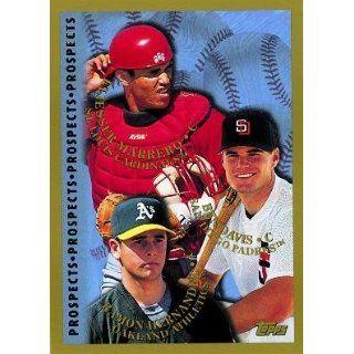 1998 Topps #261 Ramon Hernandez / Ben Davis / Eli Marrero   Cardinals