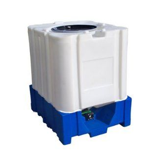 Avenger 275 Gallon All Plastic IBC Container By Granger