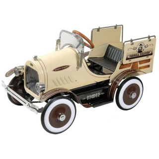 Classic Woody Wagon Pedal Car