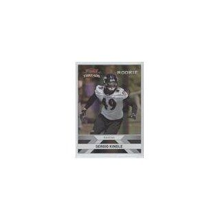 Football Card) 2010 Panini Threads Silver Holofoil #283 Collectibles